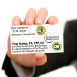 Certified Public Accountant, CPA Business Card