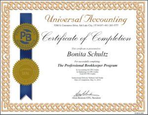 PB Certificate