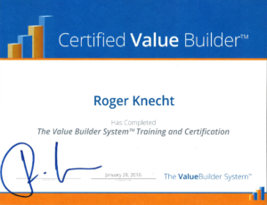 Get Certified with Value Builder™ processes and procedures to increase the profits and the value of the business