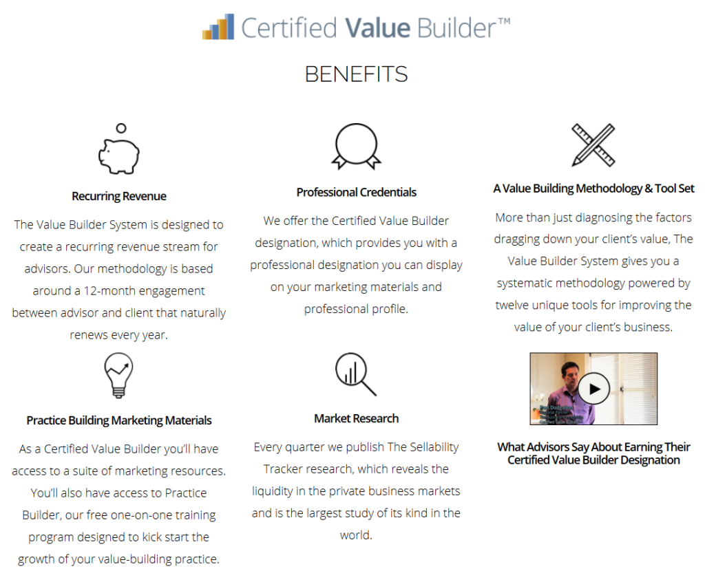 Value Builder™ Process