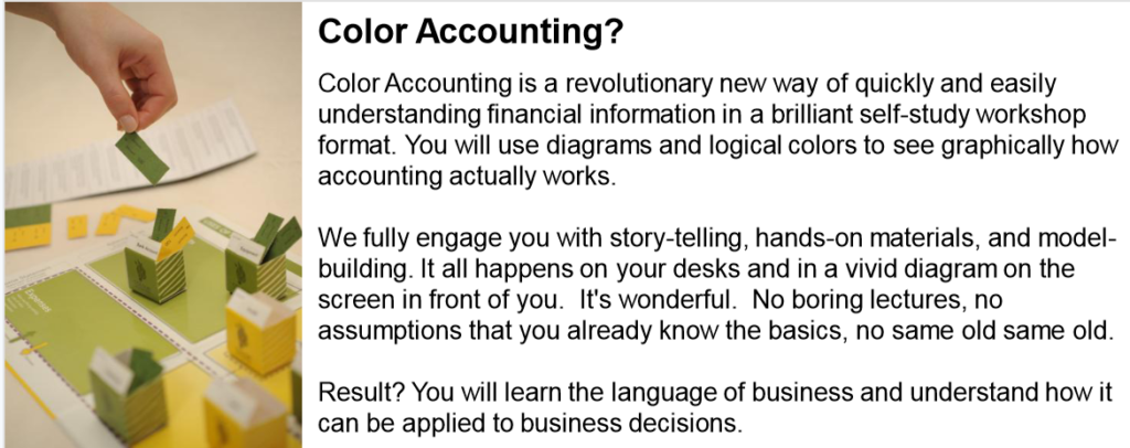 Color Accounting™ Certification