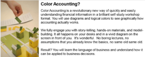 Color Accounting™ Certification Official Logo