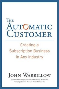 John Warrillow, author of The Automatic Customer